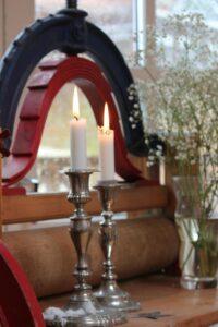 Græsted Kro - Pavillionen med levende lys